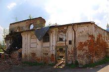 Північно-східний кут Бережанській синагоги
