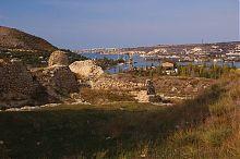 Исток Севастопольской бухты у реки Черной Инкермана