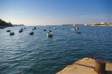 Рыбацкие ялики Аполоновой бухты Севастополя