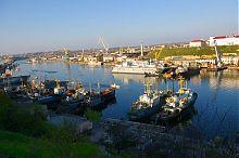 Западная часть севастопольской Южной бухты