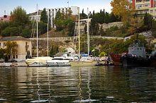 Яхты в севастопольской Южной бухте