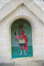 Святой Георгий привратной башни севастопольского Братского кладбища на Северной стороне