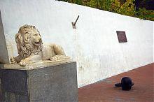 Подпорная стена Графской пристани в Севастополе
