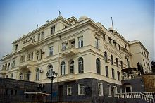 Південно-західний кут будівлі севастопольського Інституту південних морів