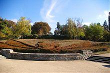 Середня частина партерного амфітеатру Малахового кургану в Севастополі