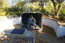 Место второго орудия батареи Матюхина на Малаховом кургане Севастополя