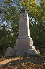 Памятник Четвертому бастиону на Историческом бульваре Севастополя