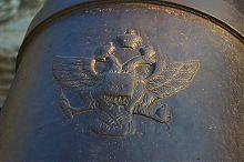 Двуглавый орел орудия Четвертого бастиона на Историческом бульваре