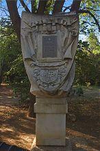Пам'ятний знак севастопольського Історичного бульвару