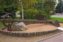 Адміралтейський якір на честь закладки севастопольського Приморського бульвару