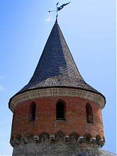Тенченская башня крепости в Каменец - Подольском