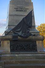 Центральний фасад постаменту севастопольського пам'ятника Нахімову